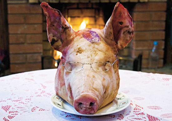 Что приготовить из головы свиньи